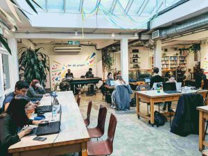 Husk Coffee and Creative Space for remote work