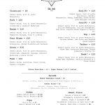 Star Lane Pizza Bar Food Menu