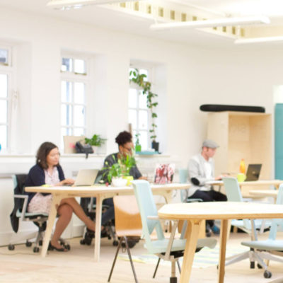 Impact coworking space London, Brixton