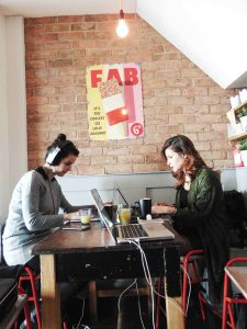 Working from The Schoolhouse, free co-working in Wandsworth.