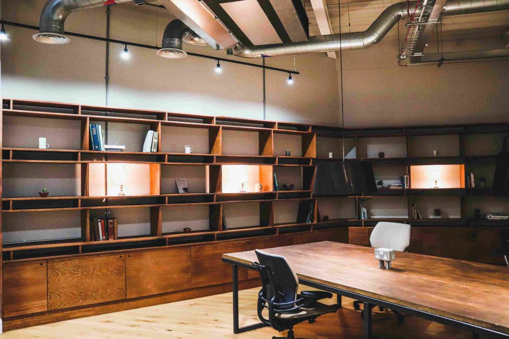Perch coworking quiet area