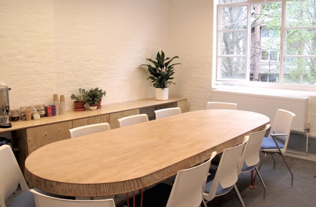 Board Room at Impact Hub Islington
