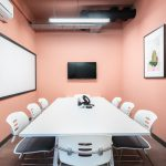 Moneypenny workhub meeting room with AV in Old Street