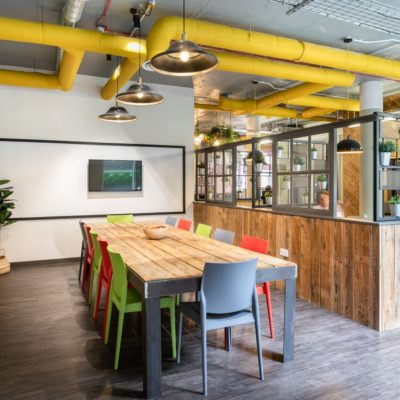 Moneypenny workhub meeting & event space with AV