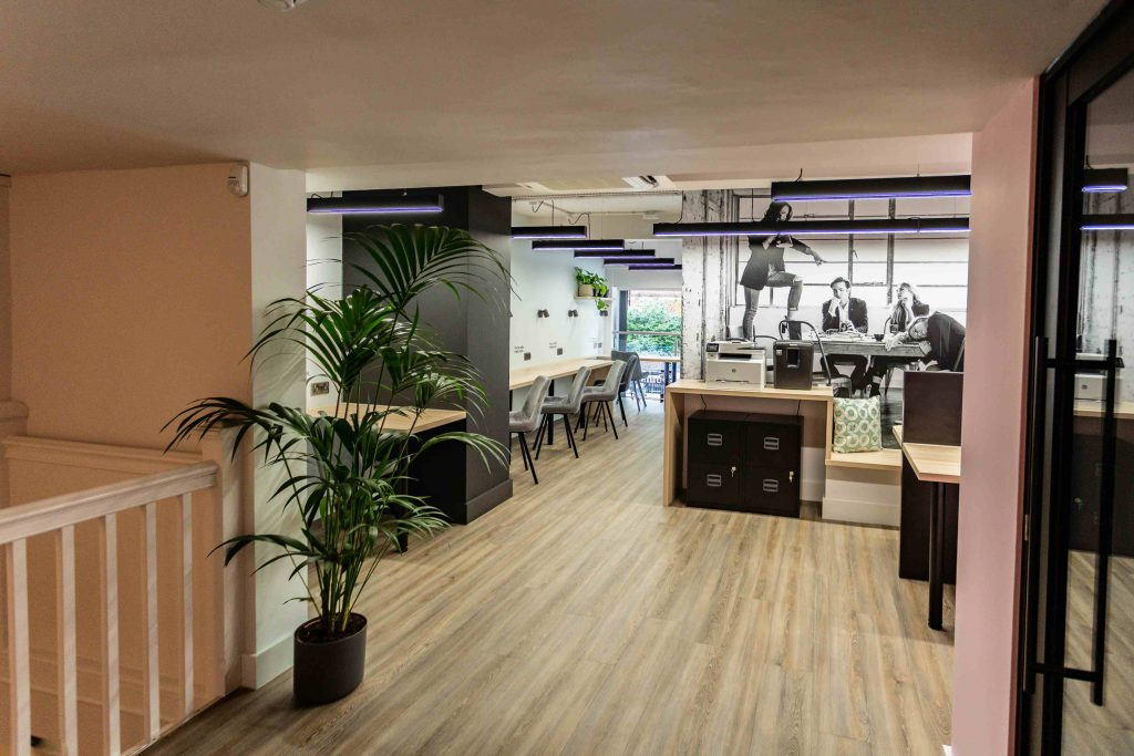 Jova London coworking space in Marylebone