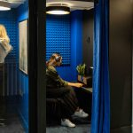 Jova London Phone Booth in the coworking space