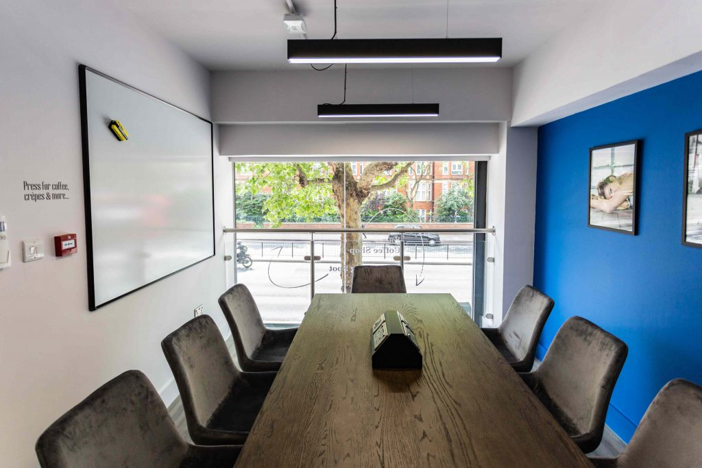 Jova London meeting space in Marylebone