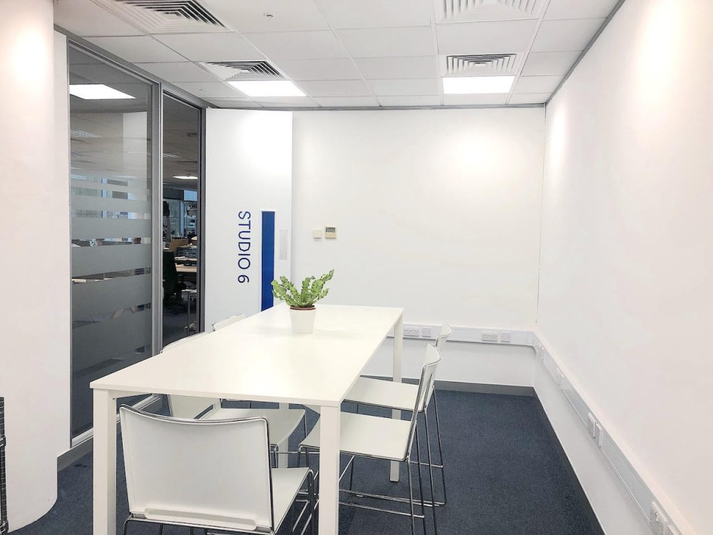 Central Research Laboratory meeting room in Hayes