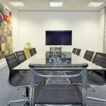 Central Research Laboratory meeting space with AV in Hayes