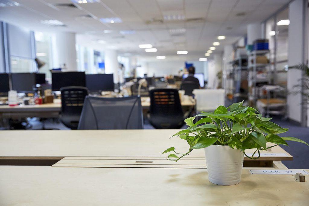 Central Research Laboratory desk area
