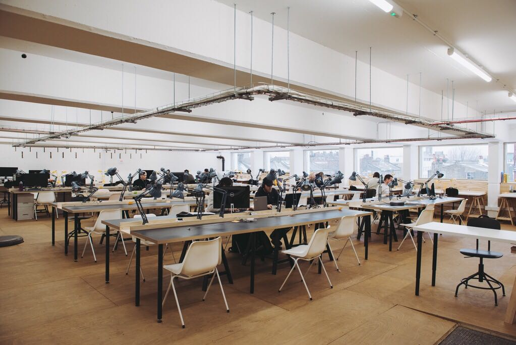 The ramp co-working space in Peckham