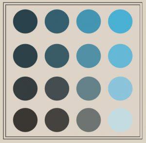 Brand colour chart