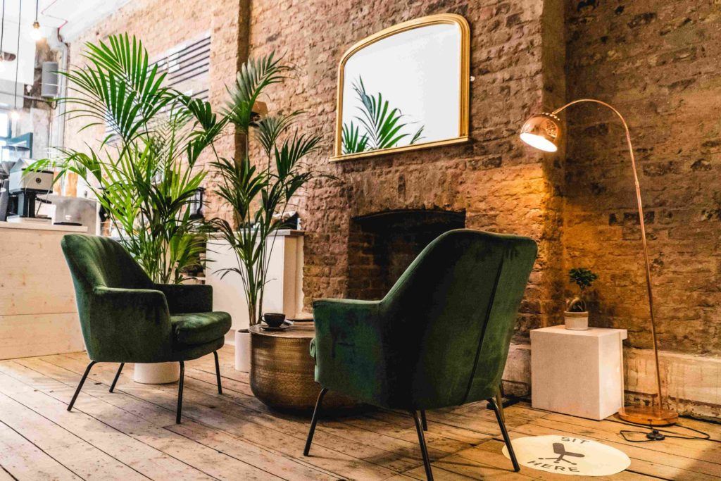 Cobalance cafe cosy lounge area