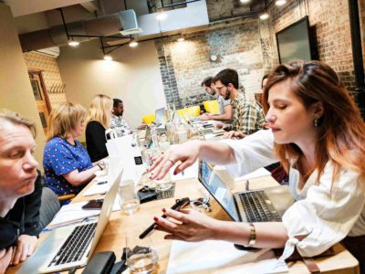 Cowork & Brunch event with WeCoffee