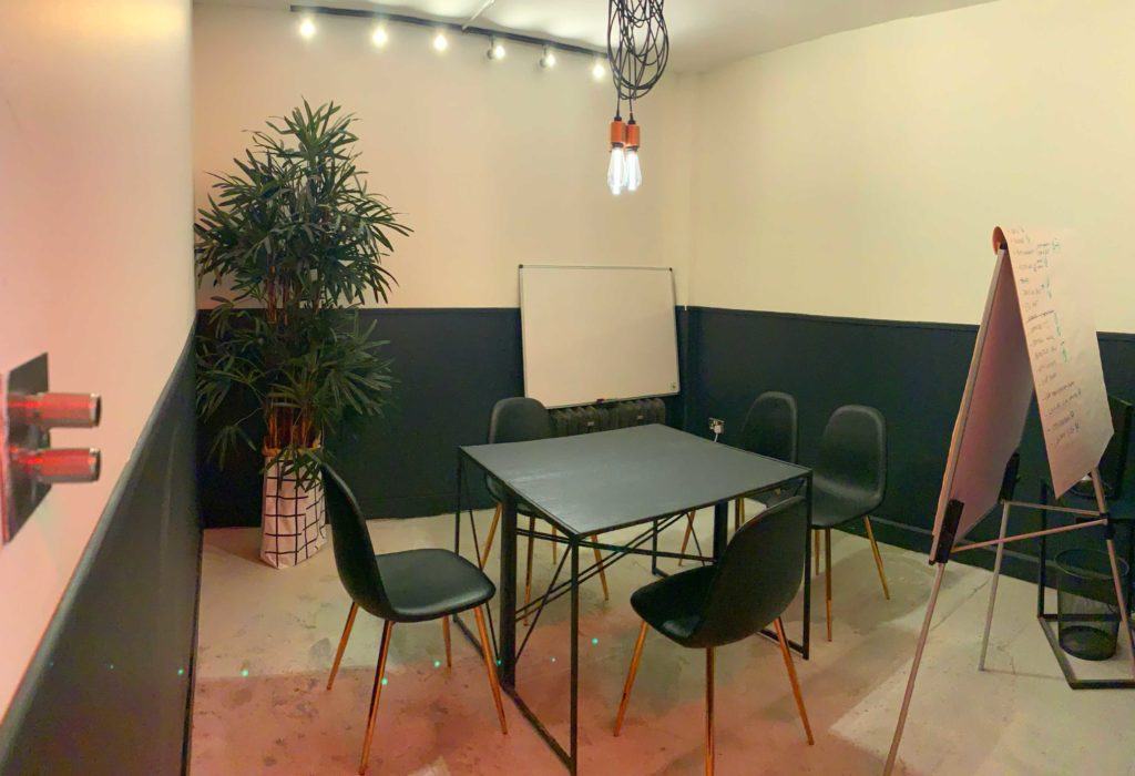 Salty Commune Meeting Room in Hoxton