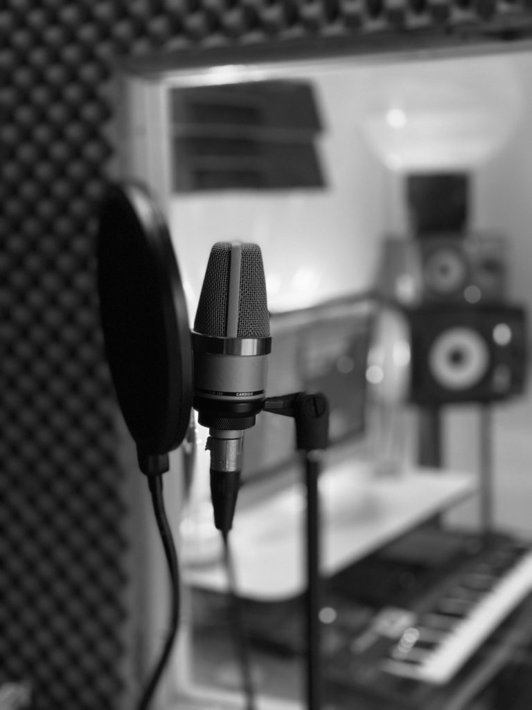 Music studio in King's Cross Only Connect