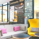 Point A King's Cross sofas for a coffee break