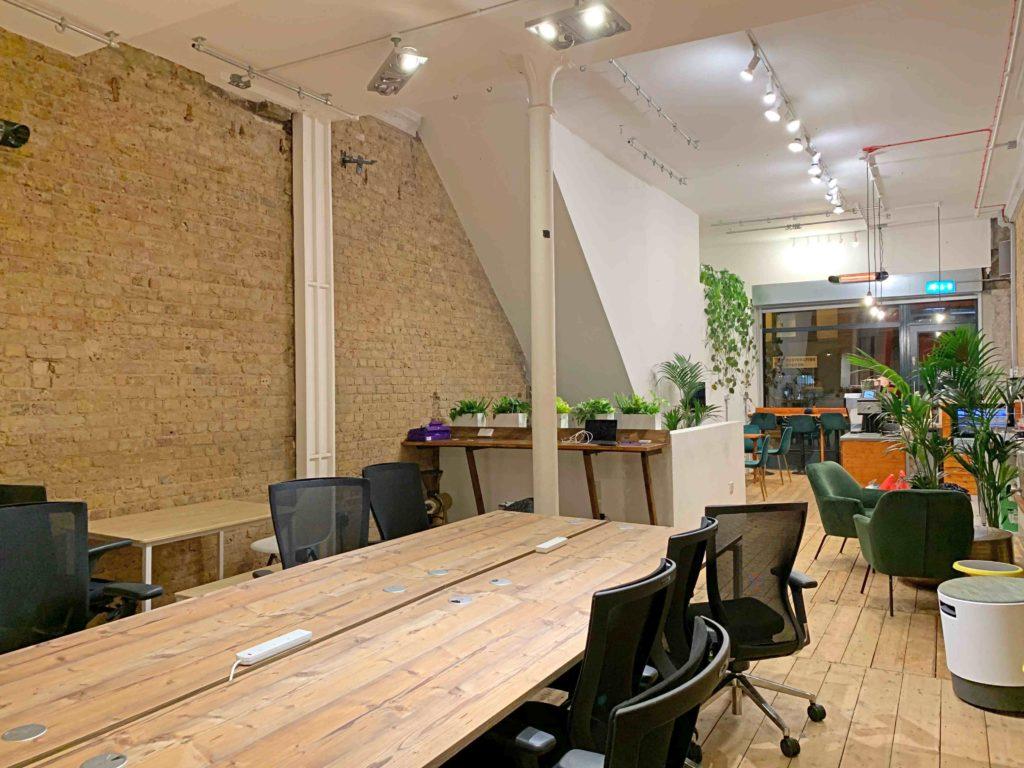 Cobalance cafe hot desking space in Shoreditch