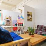 Grow Hackney coworking rest area