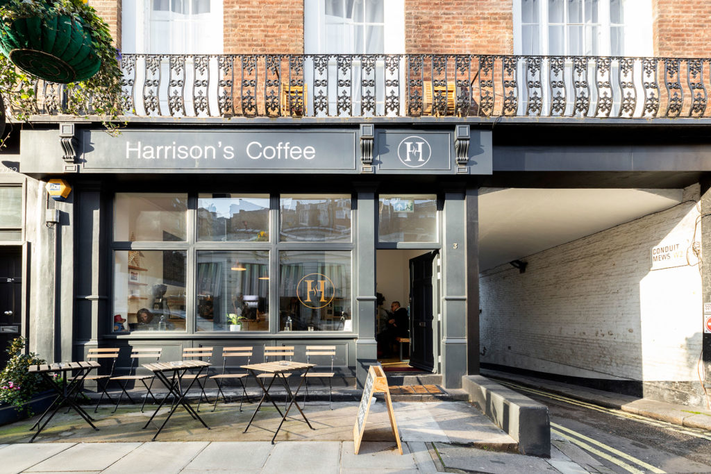 Harrison's coffee front