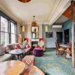Islington Town House lounge co-working area