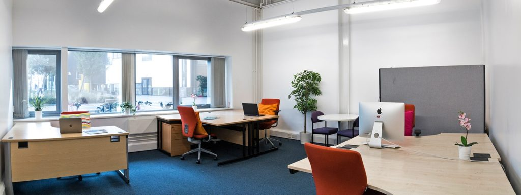UEL coworkinf space in East London