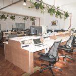 Mainyard studios main coworking space in Mile End