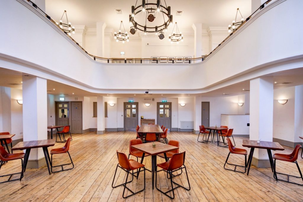 Hanbury Hall free space to work from