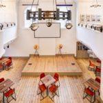 Hanbury Hall free hot-desk area in Shoreditch