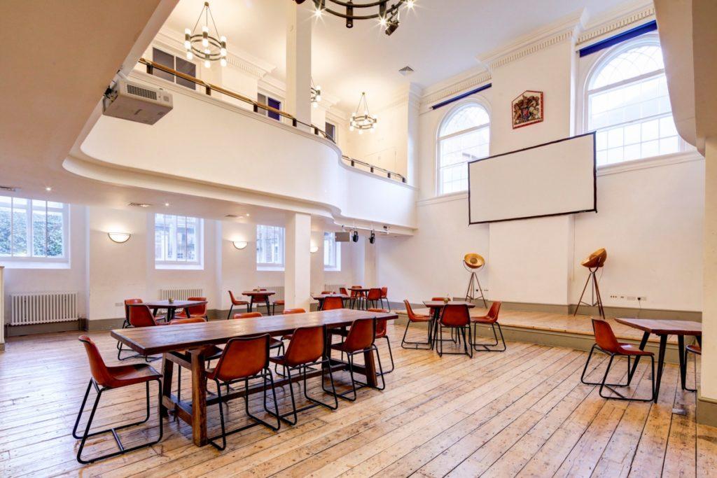 Hanbury Hall free workspace in Shoreditch