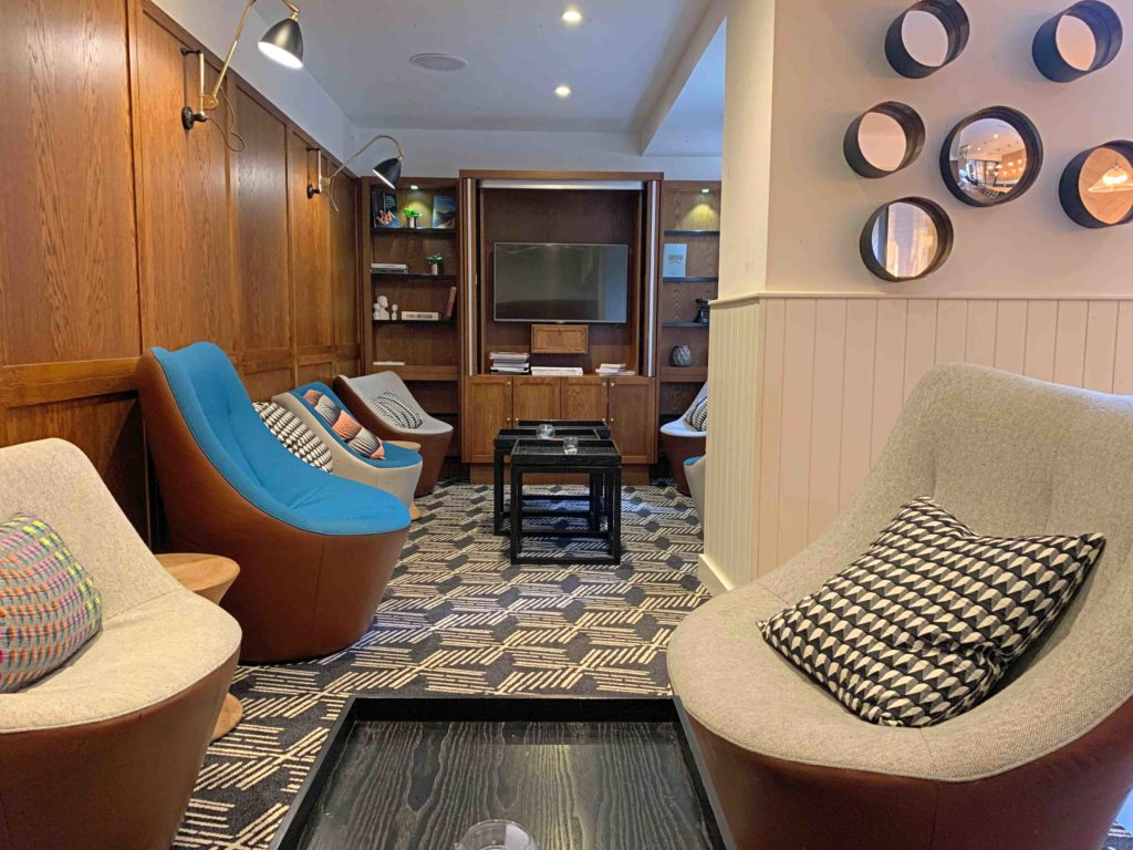 Indigo Hotel Snug Break-Out Area for informal meetings & calls