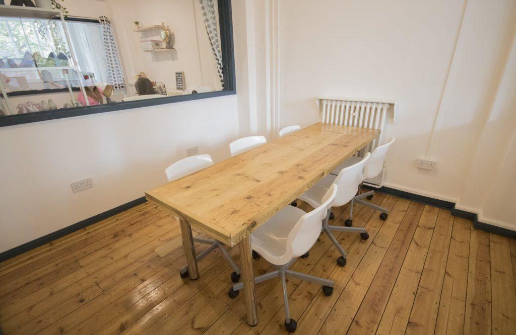 Mainyard Studio Meeting room in Mile End