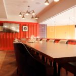Merchant meeting room in Canary Wharf, perfect for meetings, seminars or private dining