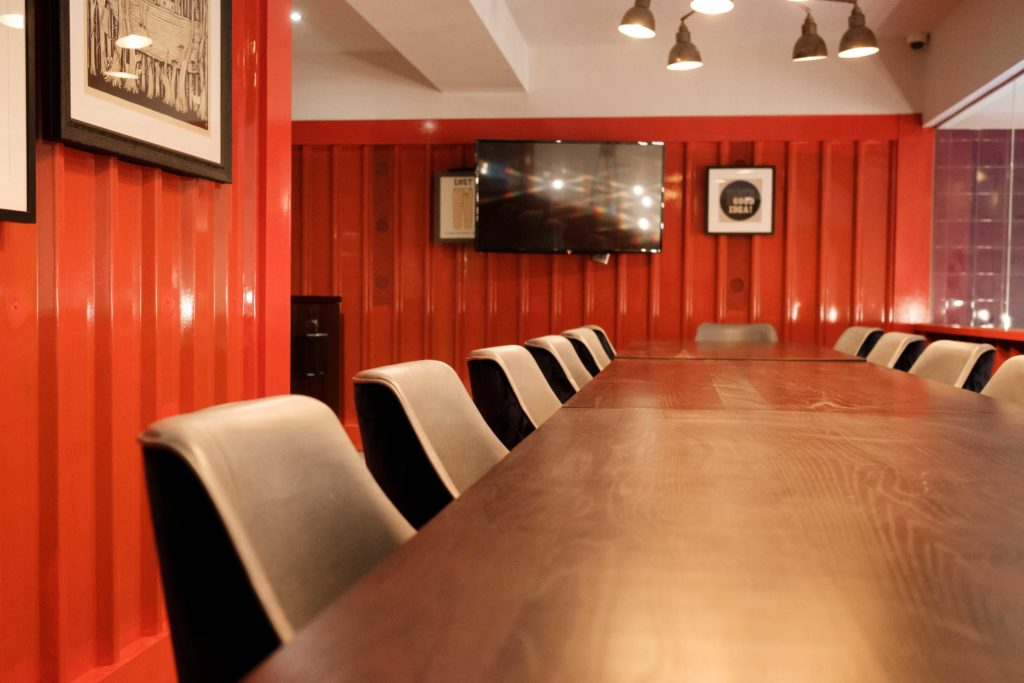 Merchant meeting room in Canary Wharf, perfect for workshops, seminars