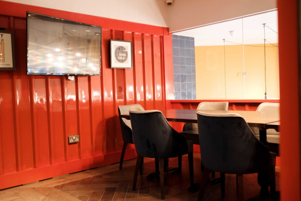 Merchant meeting room in Canary Wharf, perfect for workshops, seminars or private dining