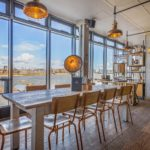 Sail loft large table for meetings in Greenwich