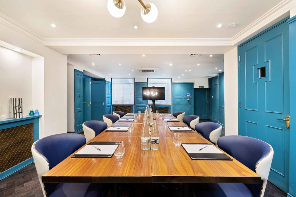 The Academy hotel meeting room & event space in bloomsbury