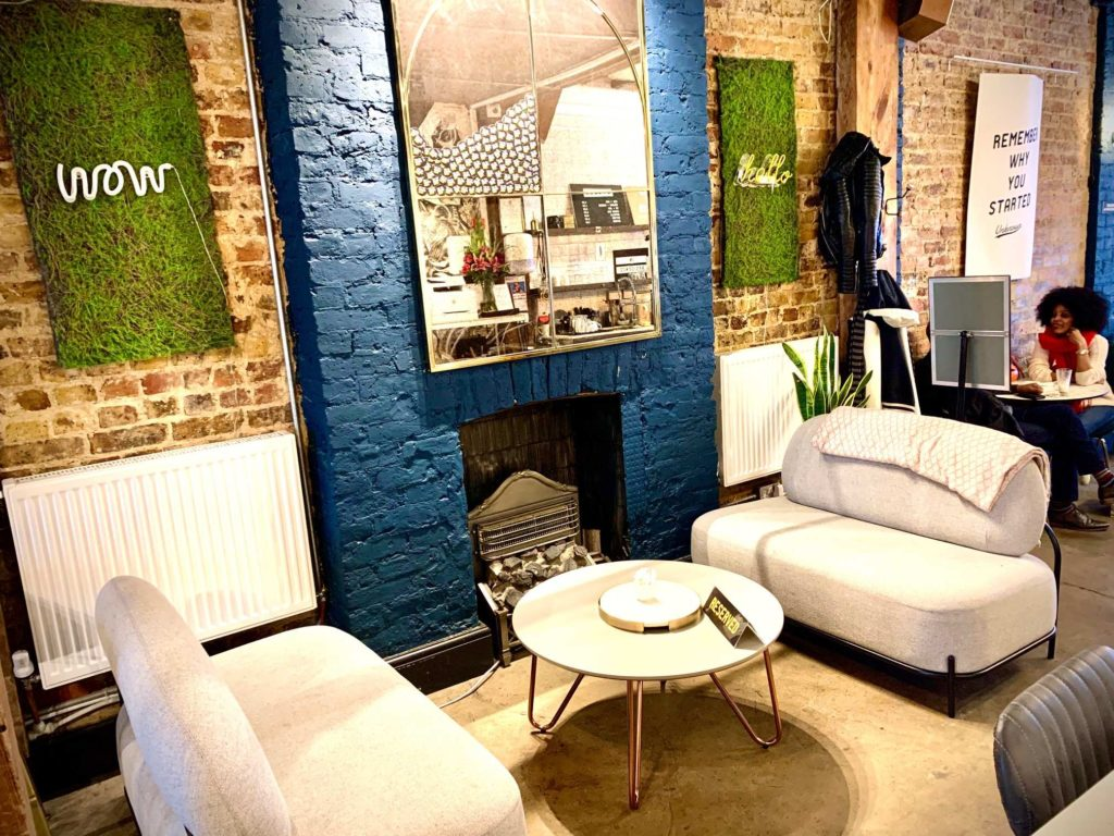 Co-dalston coworking rest area