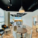 Whitechapel Think Factory hot-desking area for remote teams