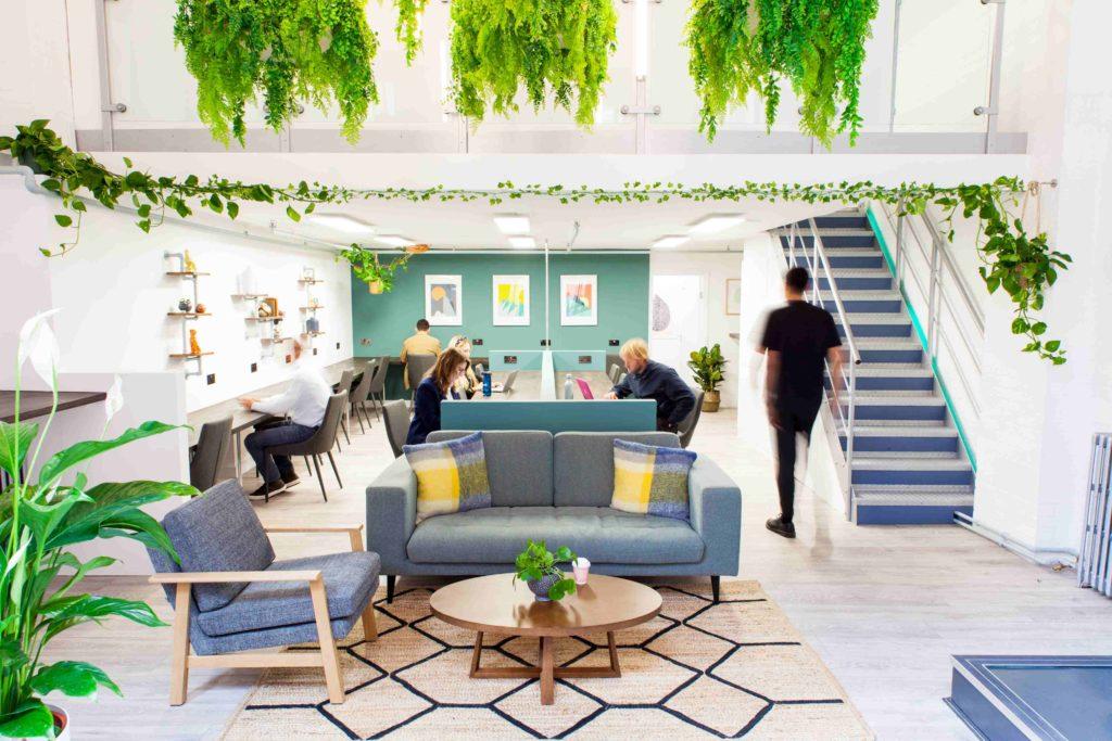 Clerkenworks flexible workspace in Farringdon