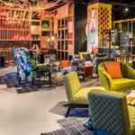nhow London lounge workspace