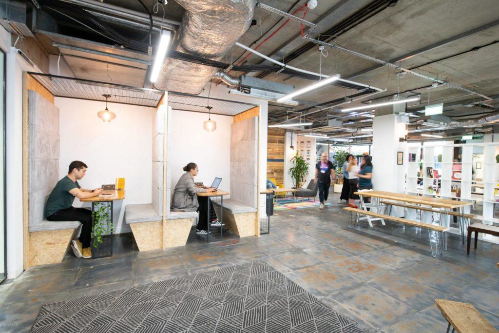 Runway East London Bridge coworking space in central London