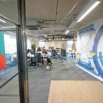 Mainyard Studio Leyton fixed desks area