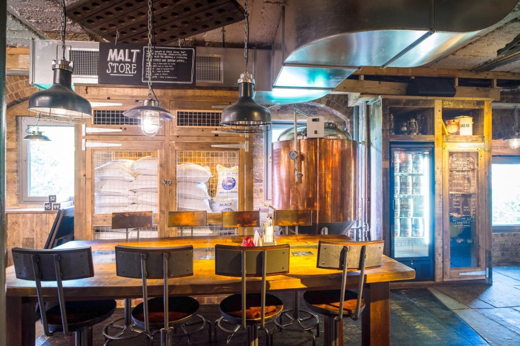 Brewhouse Highbury free place to work from