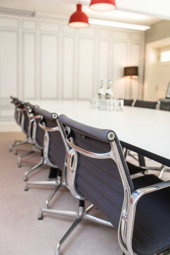 Boutique workplace Bedford Square - meeting room
