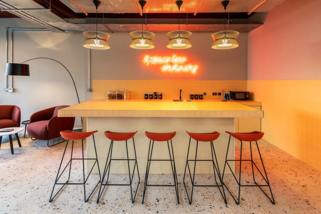 Boutique Ealing Kitchen and Lounge Area