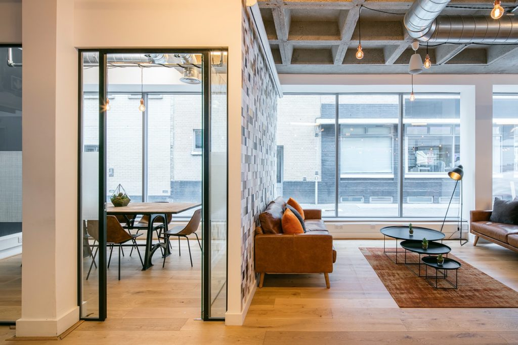 Boutique Workplace Curtain Road meeting room