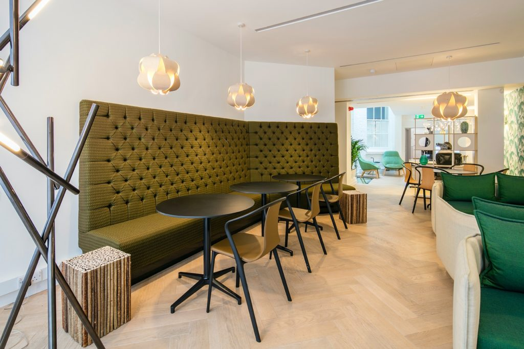 Boutique Workplace flexible coworking lounge