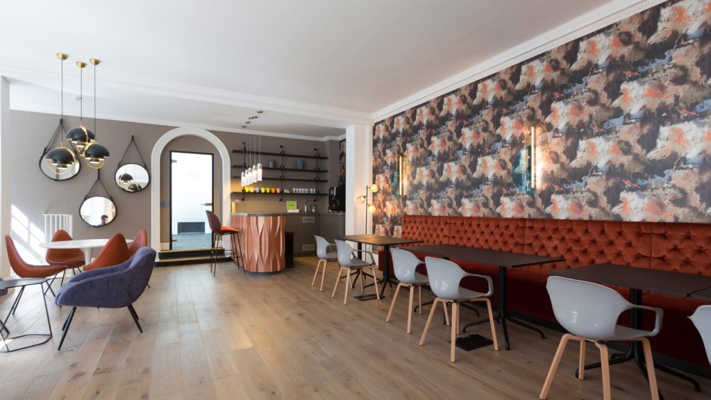 Boutique Workplace co-working lounge & bar in Mayfair