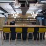 Boutique Workplace London Bridge bar with free tea & coffee